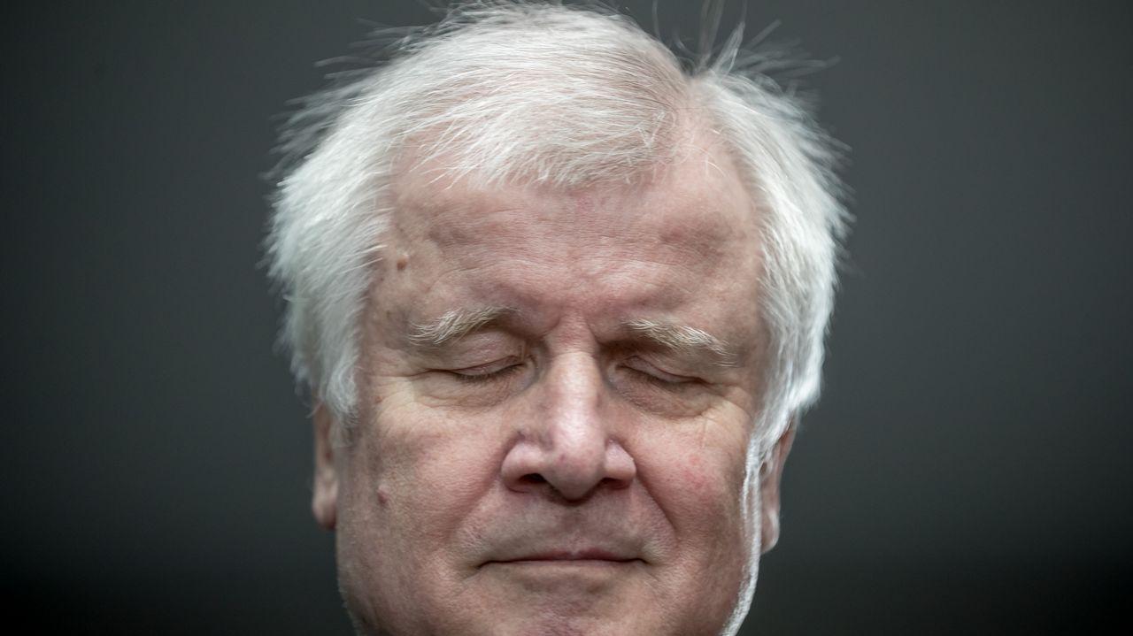 El líder de la CSU bávara, Horst Seehofer