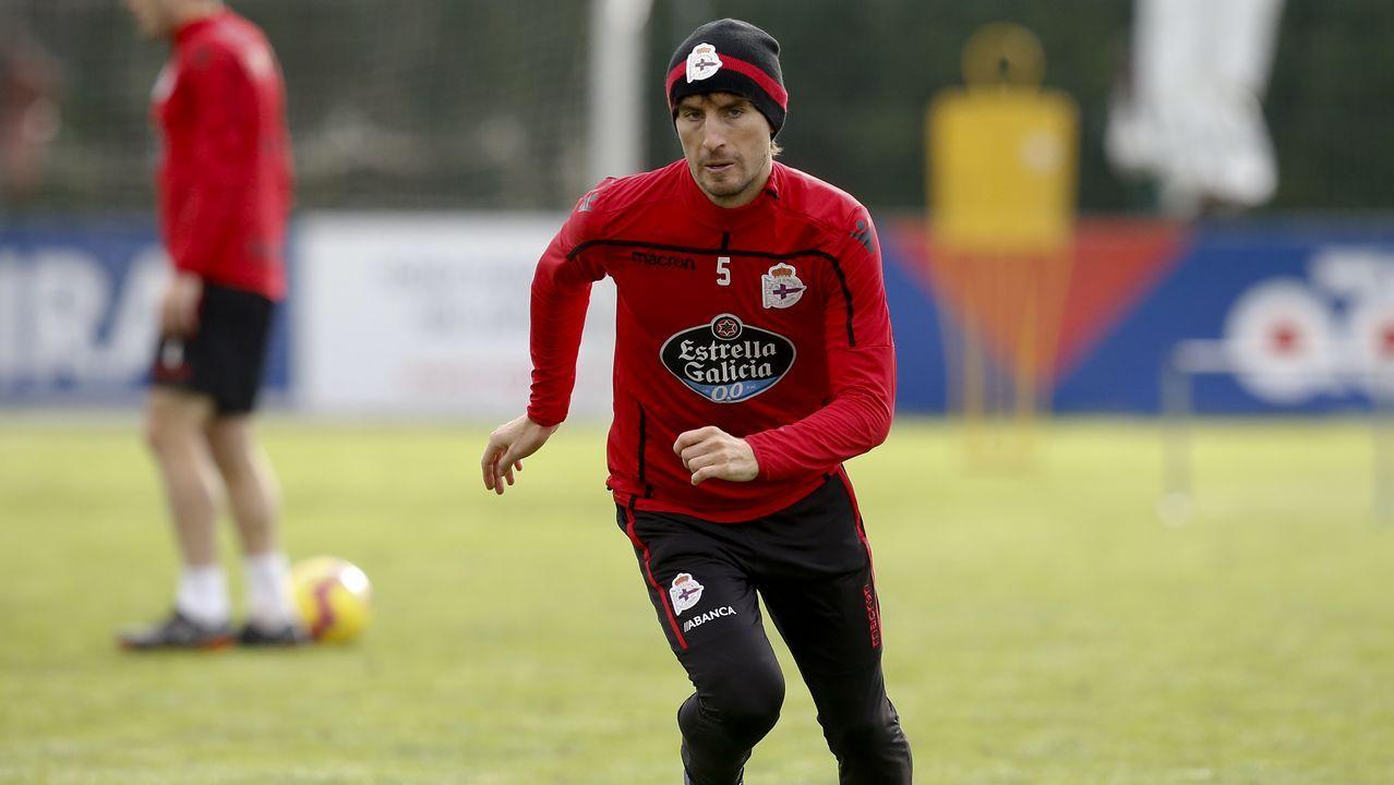 Tejera Javi Munoz Joselu Ibra Christian FernandezReal Oviedo Alcorcón Carlos Tartiere.Paula Echevarría posando en Instagram