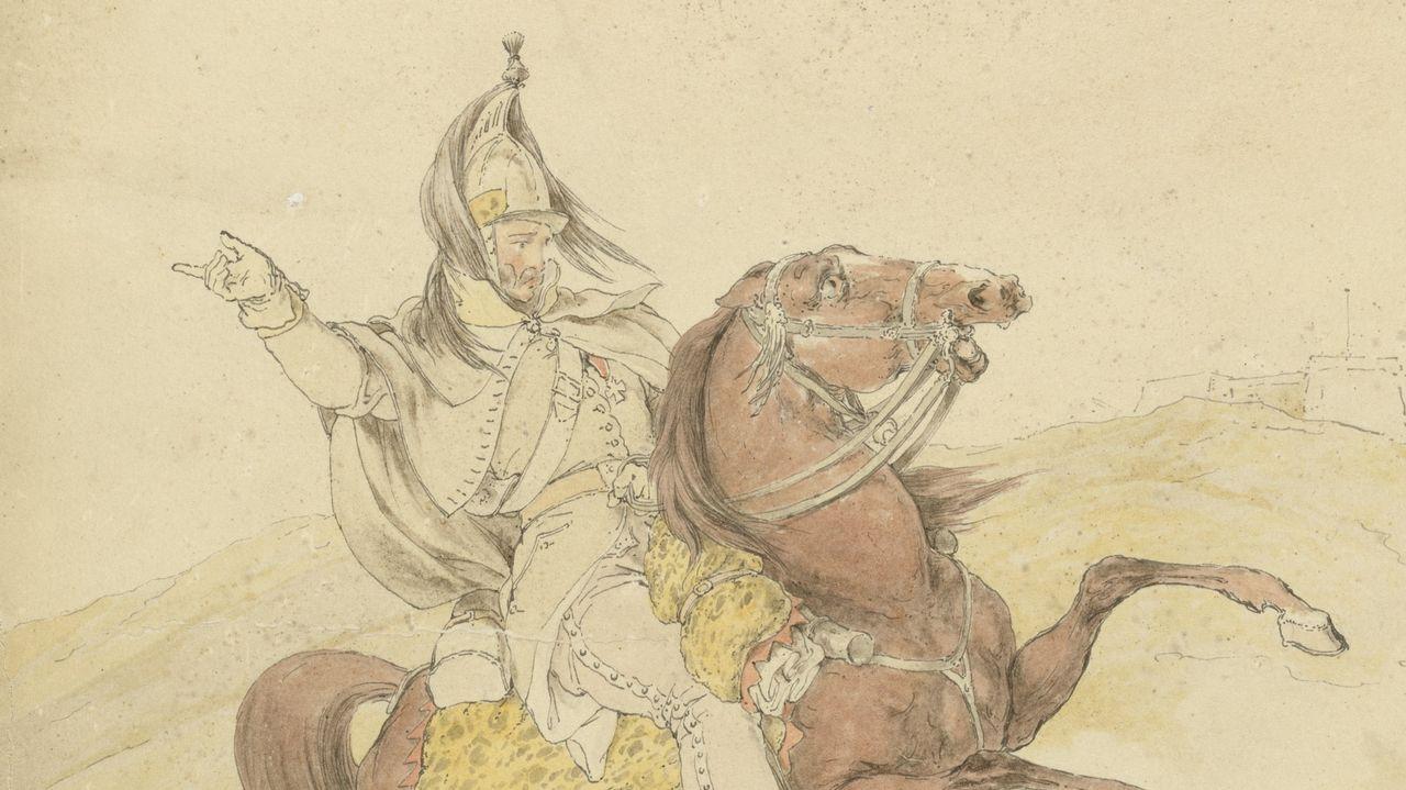 Detalle del dragón francés pintado por Ker