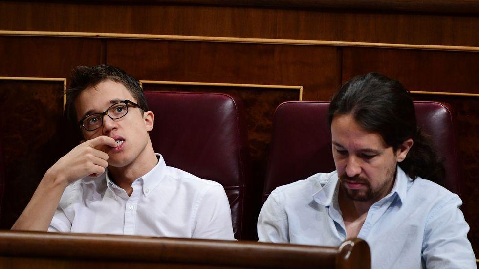 Iglesias se suma al grito de «unidad» que aclaman en Vistalegre