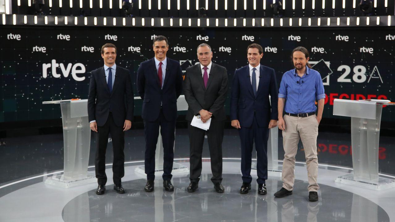 El candidato del PP, Pablo Casado
