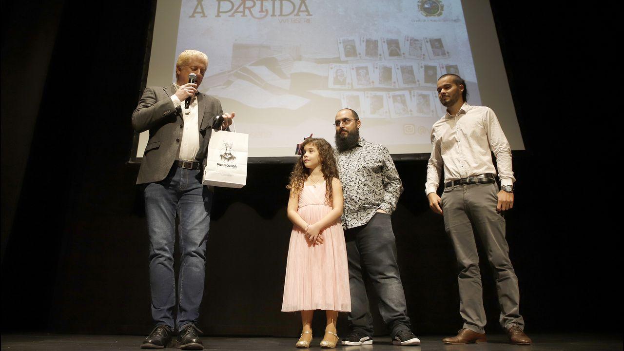 Presentaciónde la webserie «A Partida» en el teatro Elma