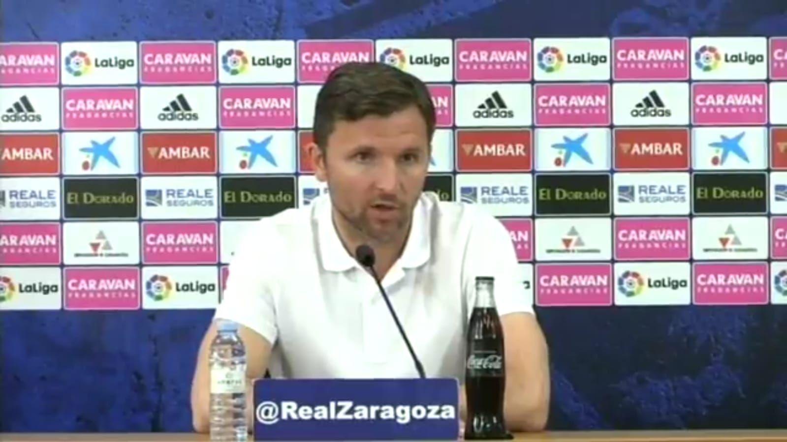 Rueda de prensa del Zaragoza sobre Natxo González.Çolak firma por el Al Wehda de Arabia Saudí