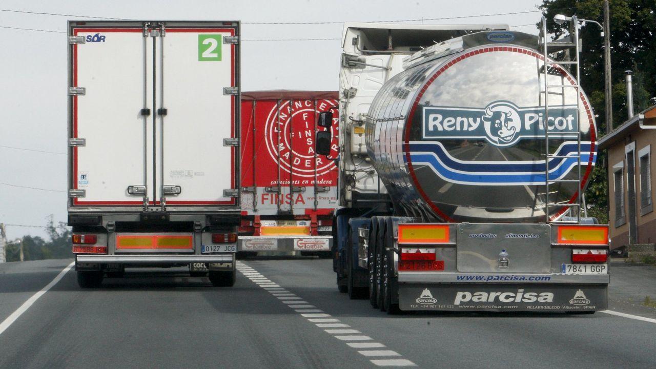 ¿Por qué faltan camioneros en Galicia?.