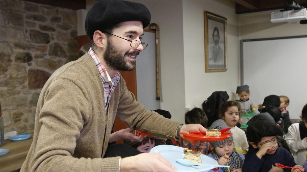 Anxo Lorenzo participou na festa