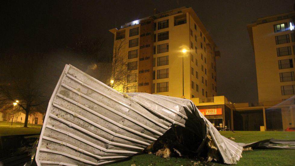 Las imágenes del temporal en Galicia