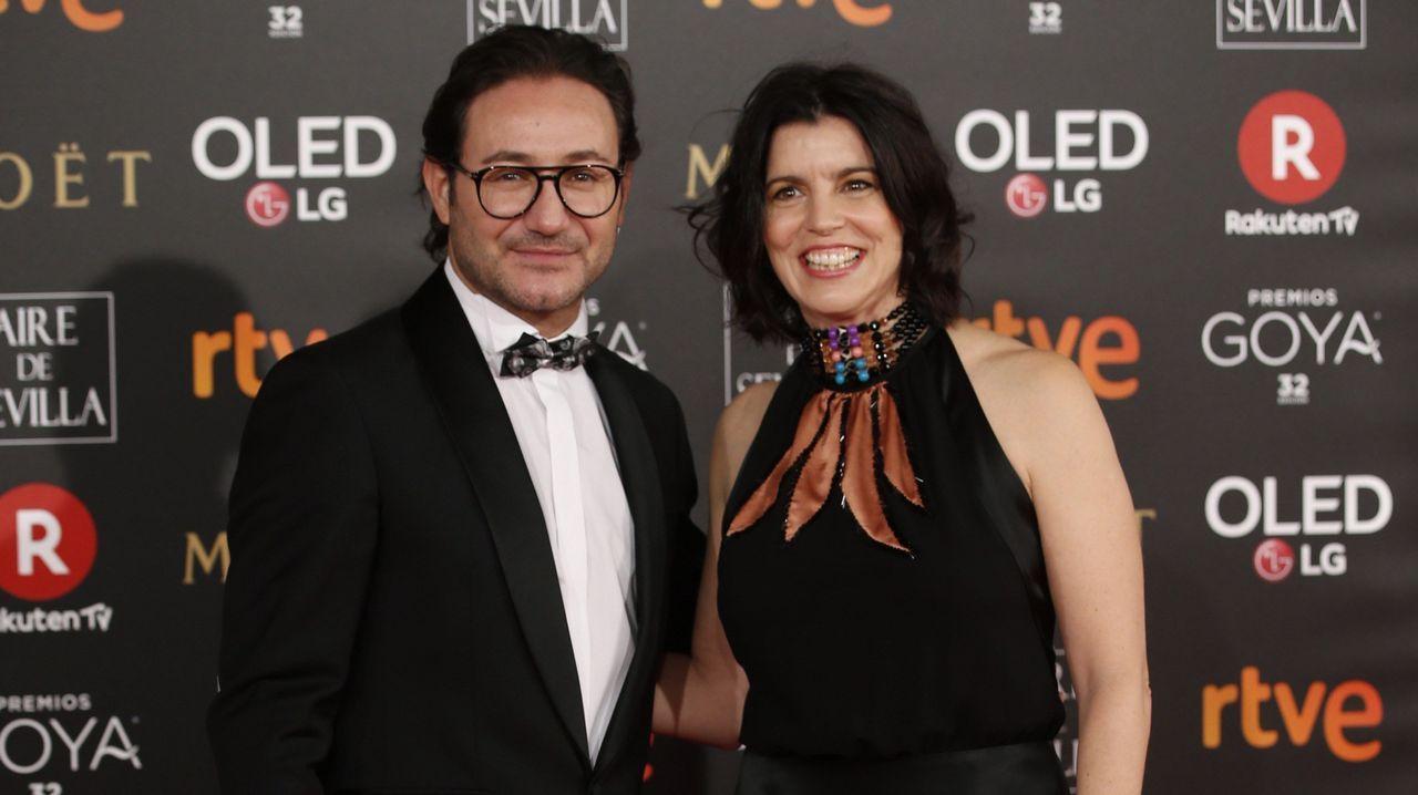 .Los actores Carlos Santos y Laia Marull