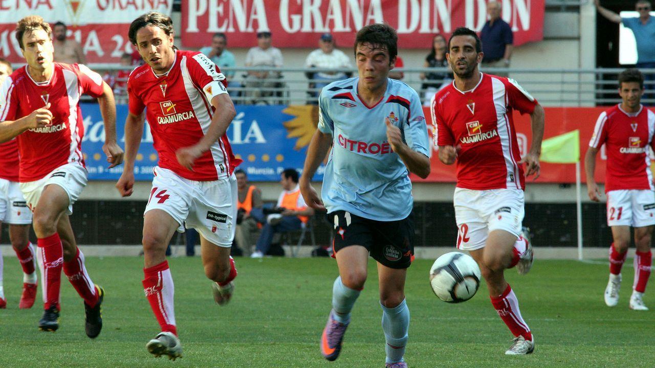 45 - Murcia-Celta (4-1) el 30 de mayo del 2010