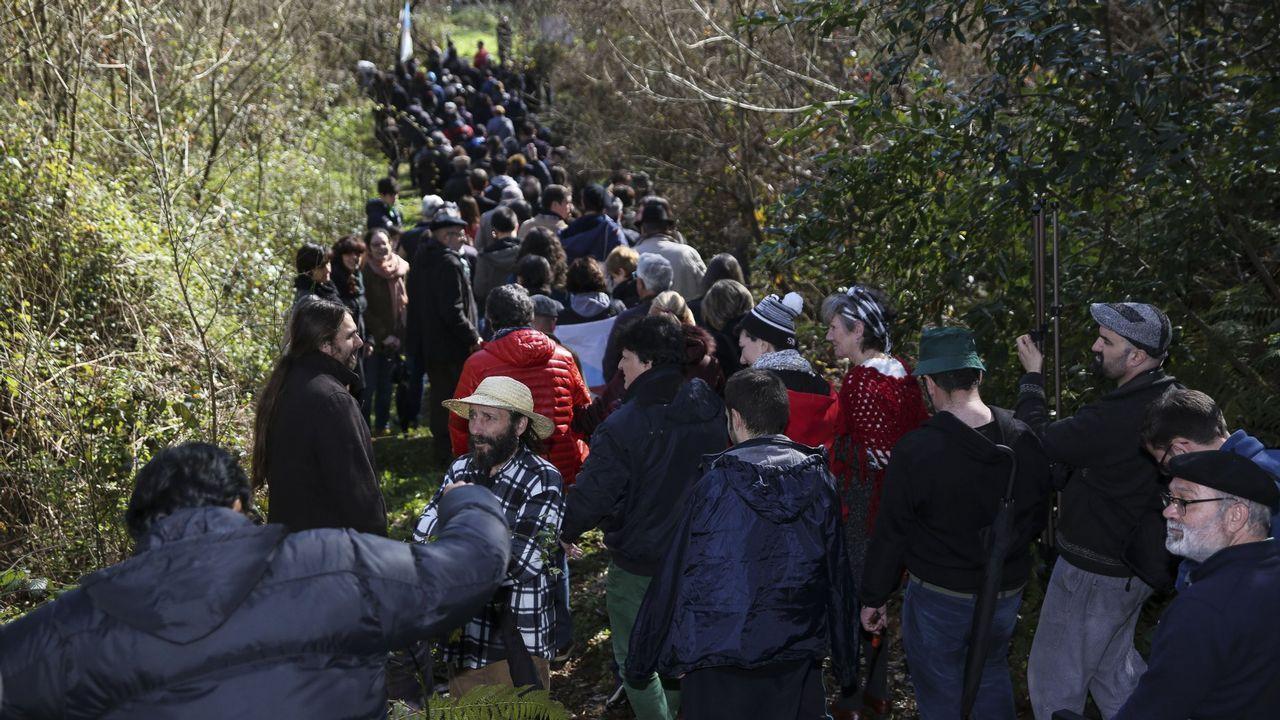 .Multitudinaria marcha la celebrada el año pasado