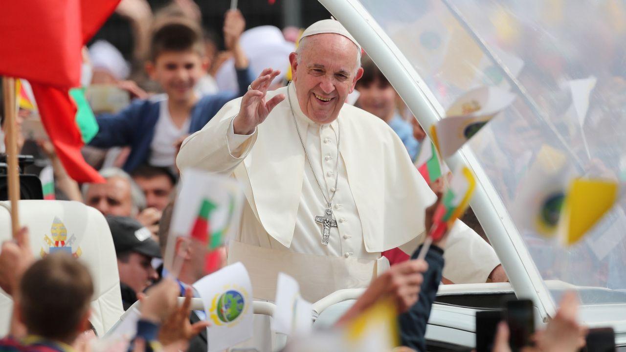 racismo, xenofobia.El papa, este domingo en Bulgaria