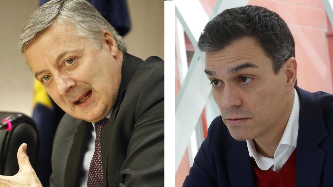 Zapatero y Maduro, en una reunión celebrada en el 2016