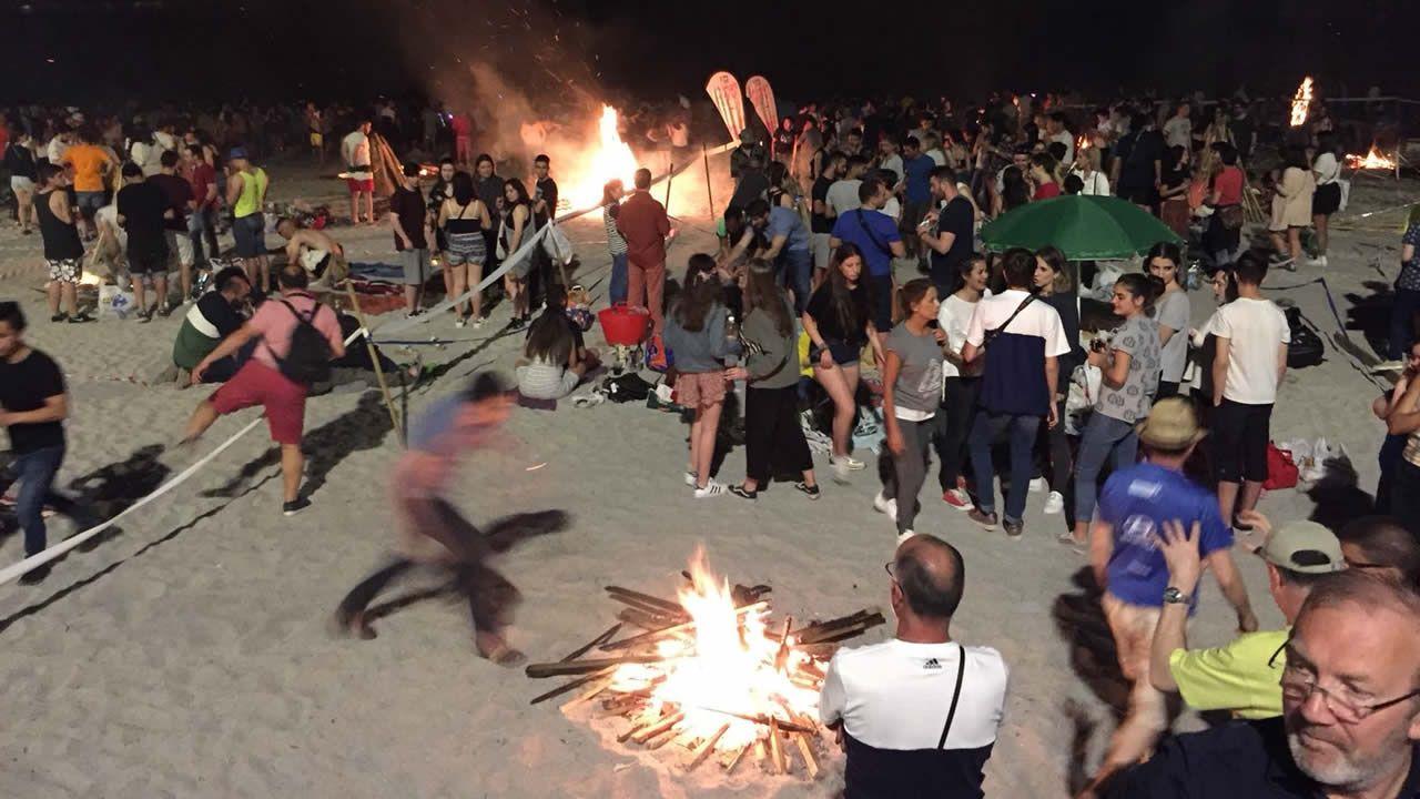 Fiesta de San Juan en A Coruña