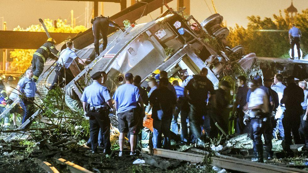 Accidente ferroviario en Filadelfia