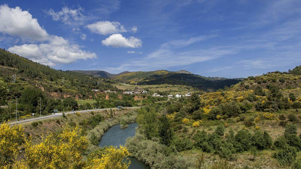 El río Sil y Montefurado