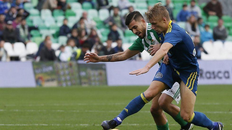 Las mejores imágenes del Celta - Málaga.Radoja vive su tercera temporada en el Celta, con el que marcó su primer gol precisamente frente al Alavés.