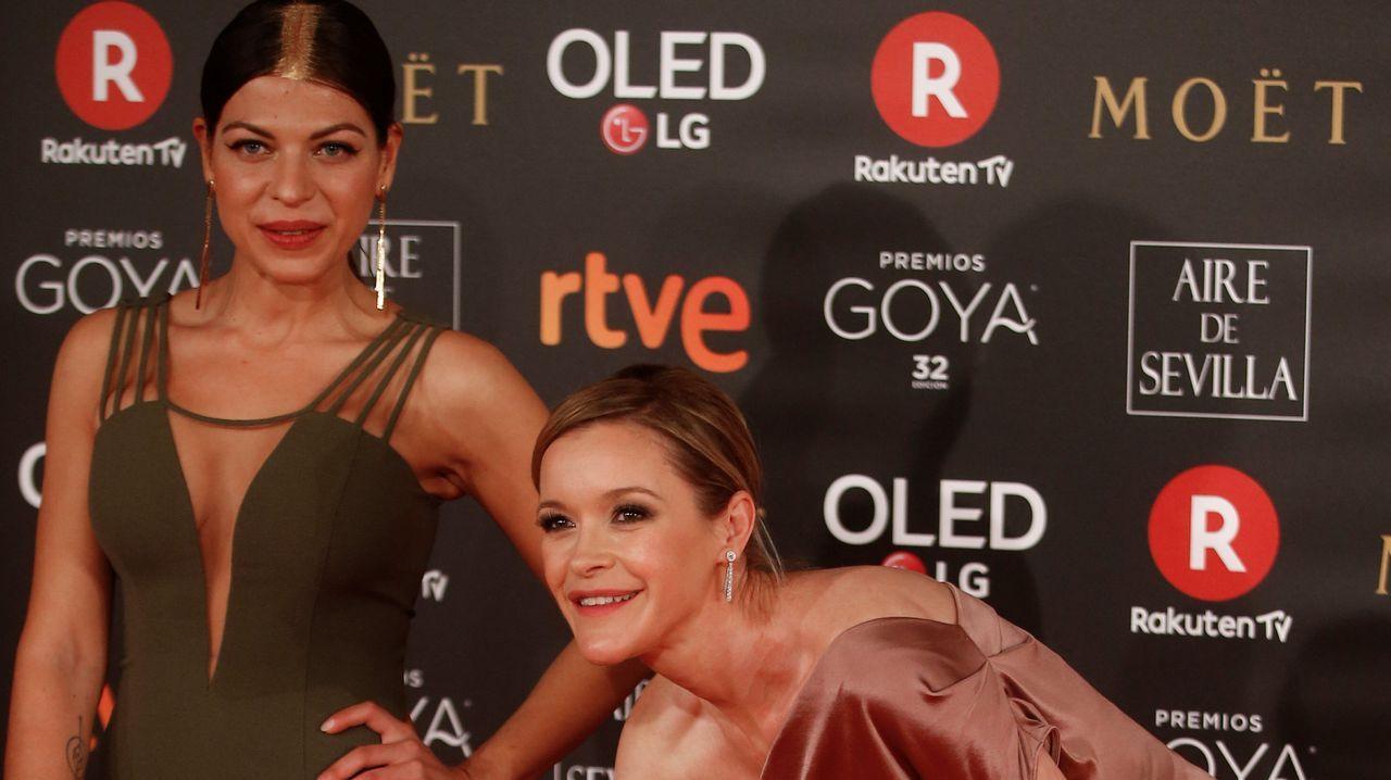 .La actriz María Esteve y Thais Blume