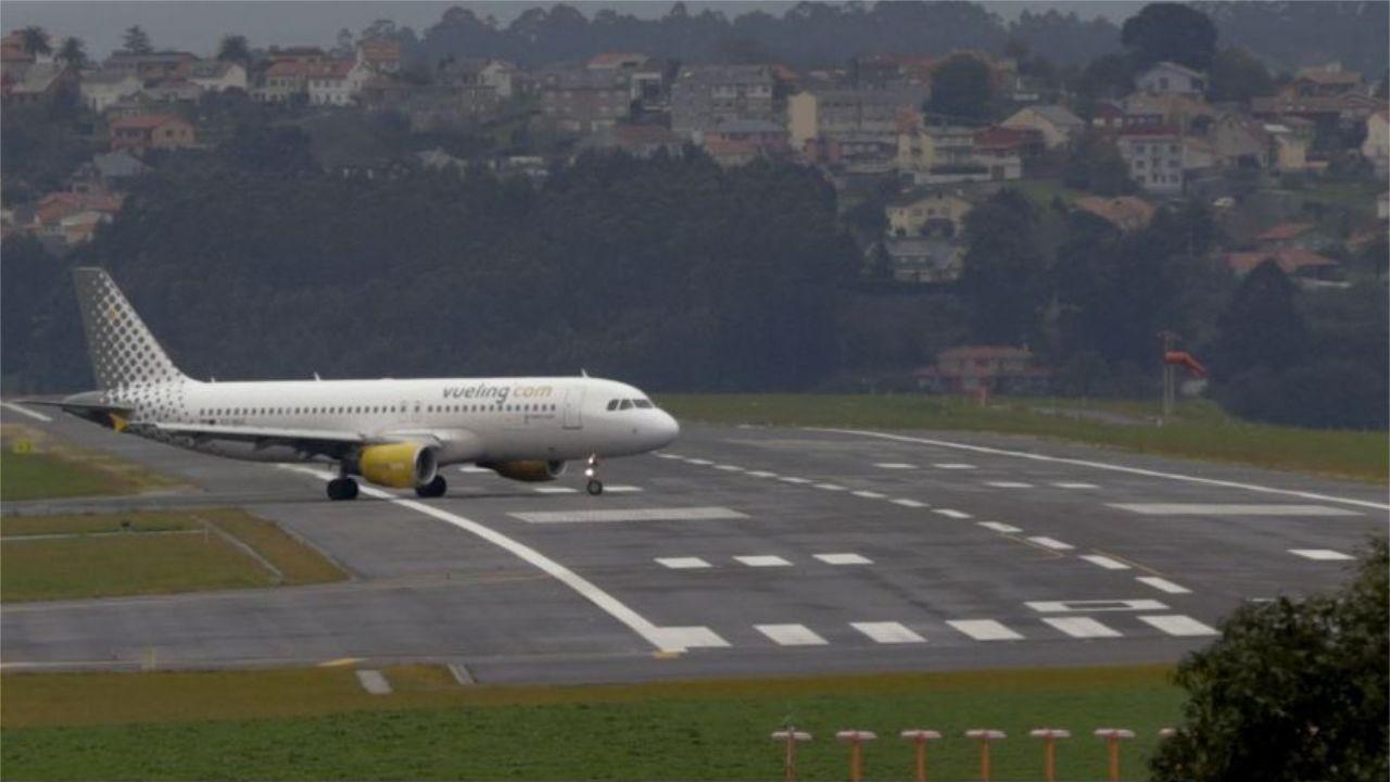El tráfico aéreo mundial, en un minuto.Un avión de Vueling