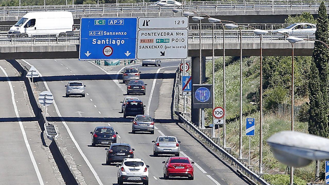 De la Serna: «Es una autopista de la red estatal y el estado tiene que tener competencias».Rafael Hernando, en una imagen de archivo