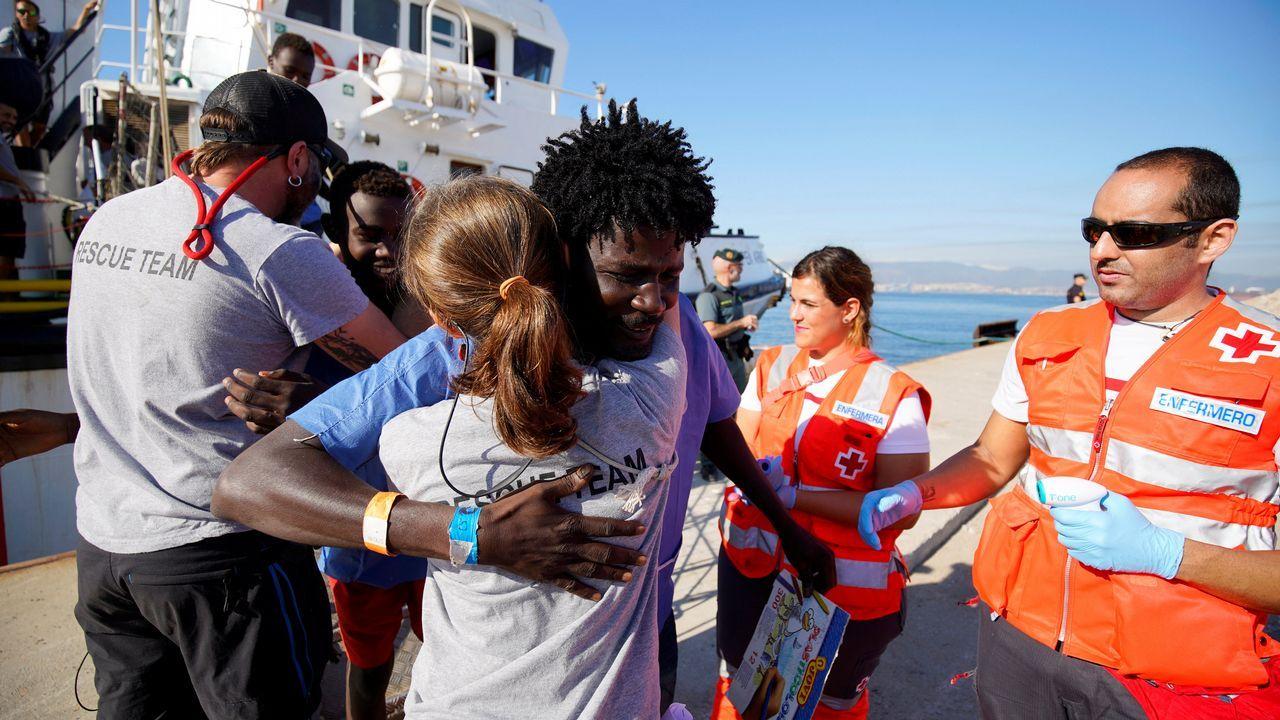 .En total, 87 migrantes han llegado a Algeciras (Cádiz)