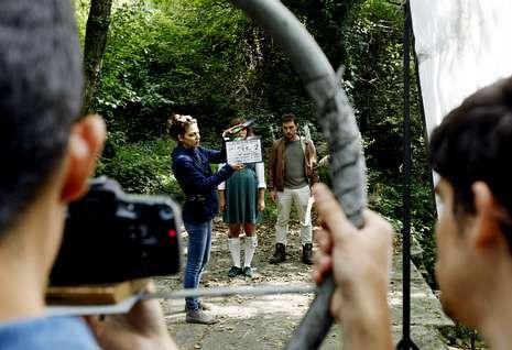 El equipo de Lutra Films se desplazó A Lousado para grabar algunas de las escenas.