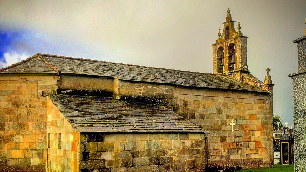Iglesia de San Xurxo de Auguas Santas.Iglesia de San Xurxo de Auguas Santas