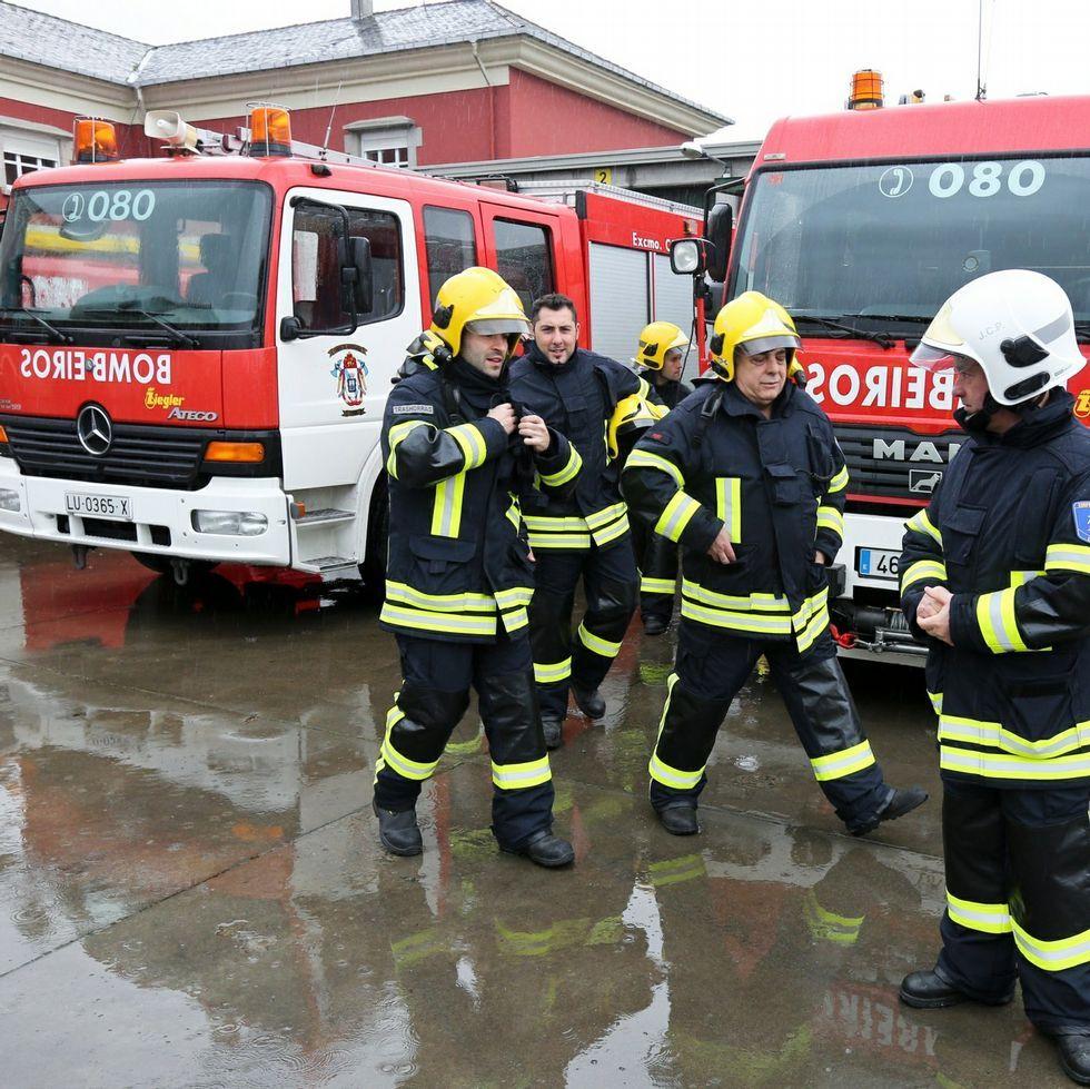 Los bomberos tendrán pronto un nuevo camión escalera.