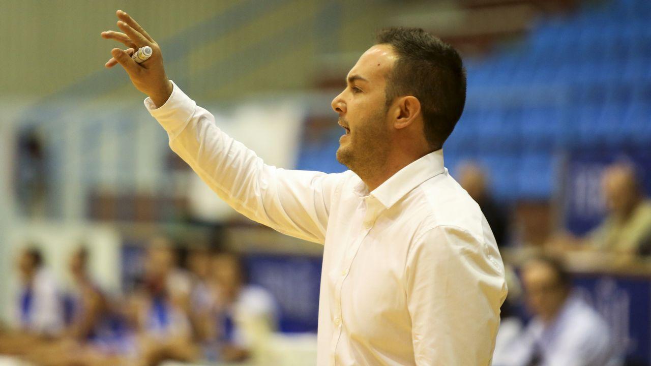 Rubén Vázquez, entrenador de Maristas