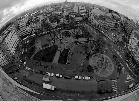 El antiguo Campo da Leña fue el lugar elegido para celebrar las multitudinarias verbenas.