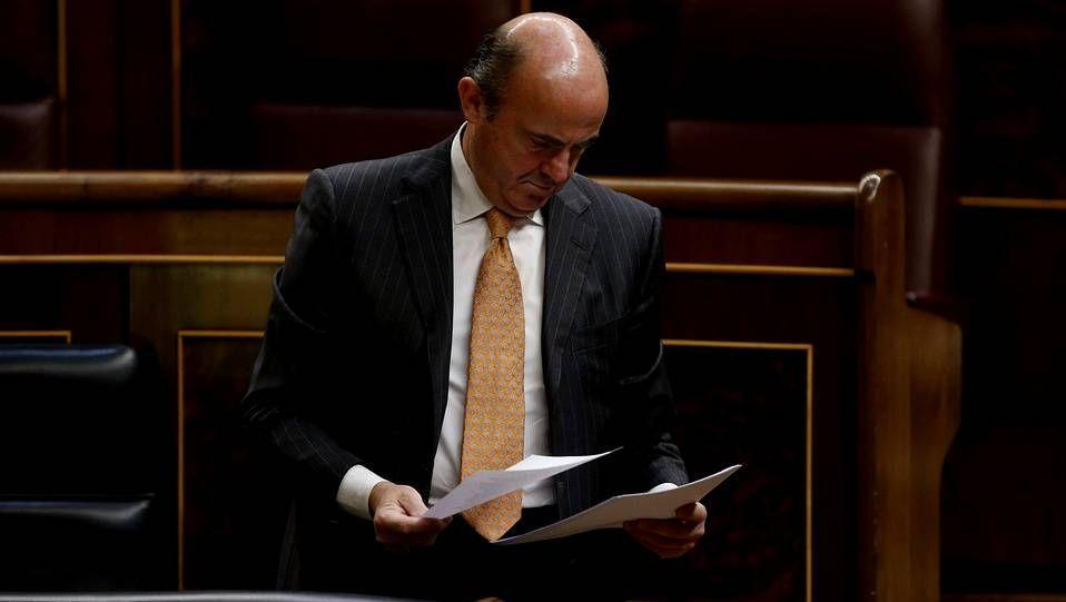 .El ministro de Economía, Luis de Guindos, ya suena para la presidencia del Eurogrupo