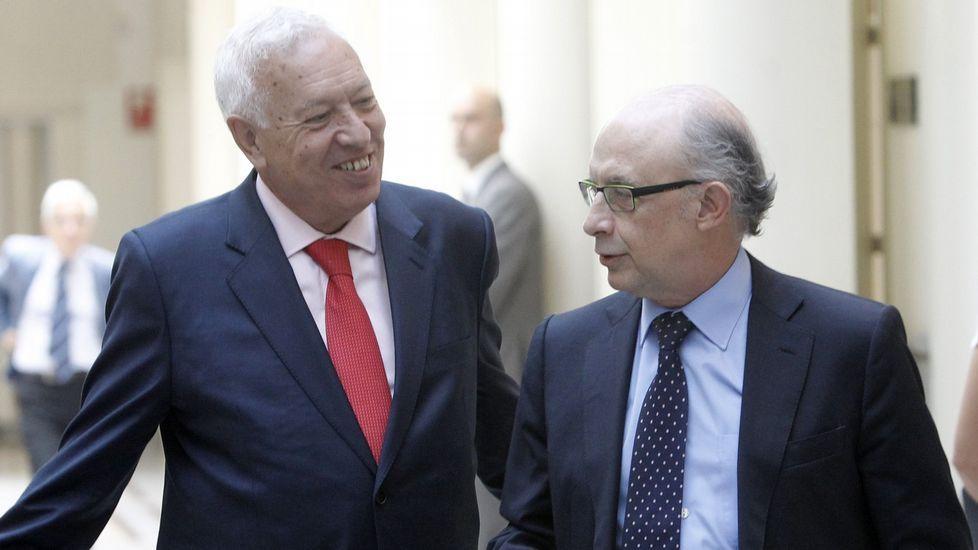 Margallo y Montoro, enfrentados
