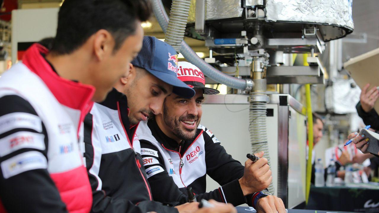Los nuevos pedidos para la pesca.Alonso celebra el triunfo en el circuito británico, ante de conocer la decisión de los jueces