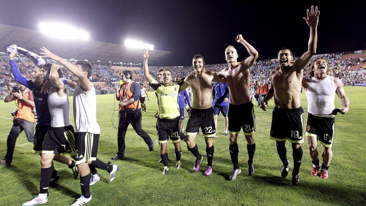 El encuentro entre el Levante y el Zaragoza en 2011