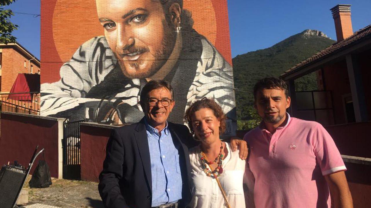 Roberto Sánchez Ramos, Cristina Pontón e Iván Álvarez