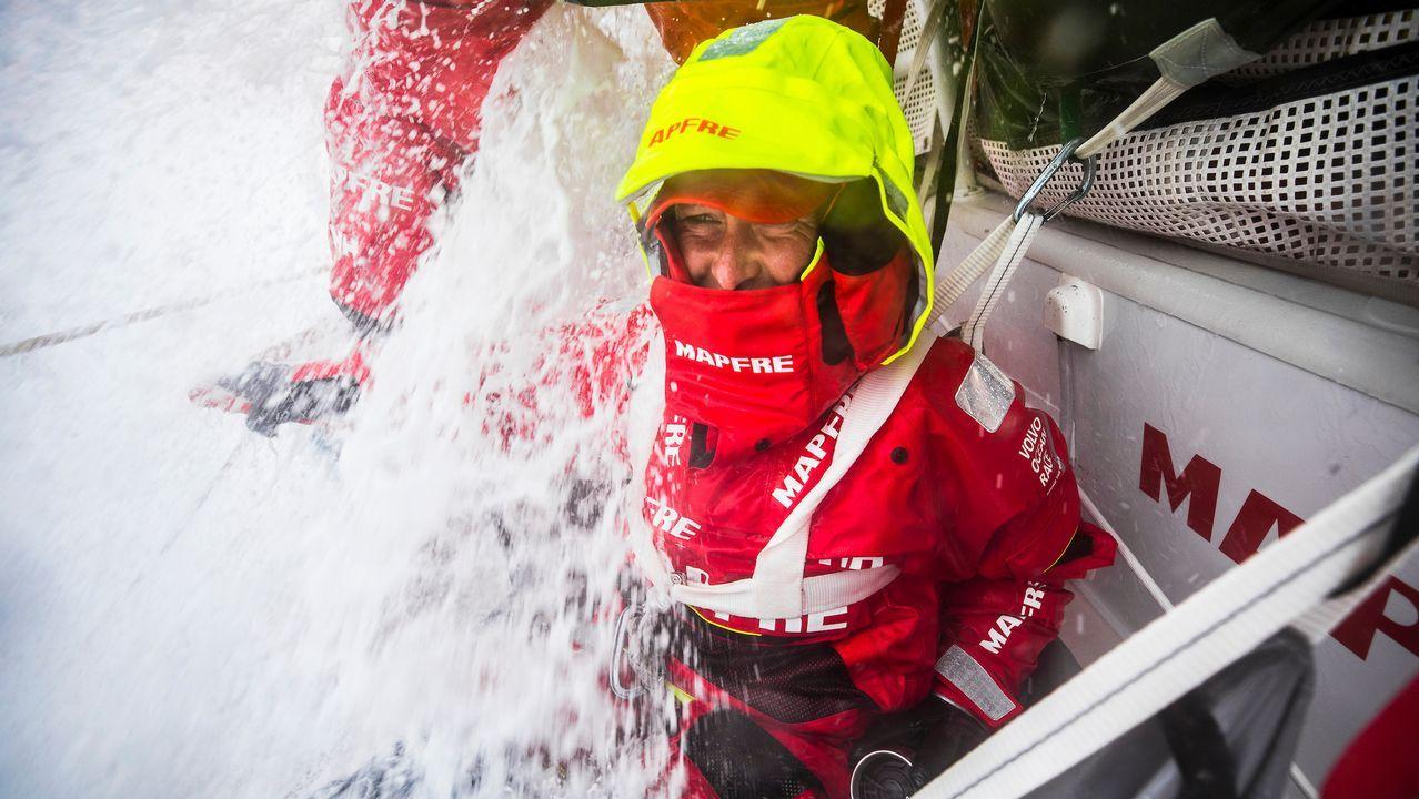Xabi Fernández se impone con el Mapfre.MAPFRE / Volvo Ocean Race