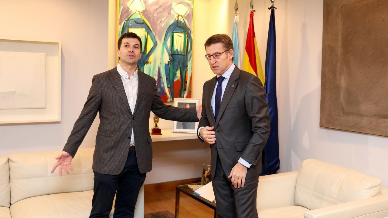 Feijoo invita a Caballero a liderar la oposición con acuerdos con el PP.