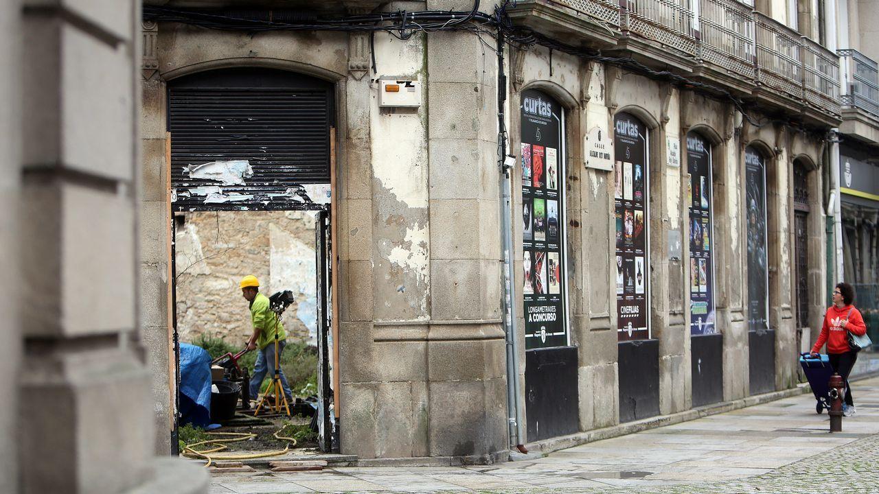 En Portugal no hay burbuja inmobiliaria.Calles de Tito Bustillo y Naranjo de Bulnes, en Ciudad Naranco
