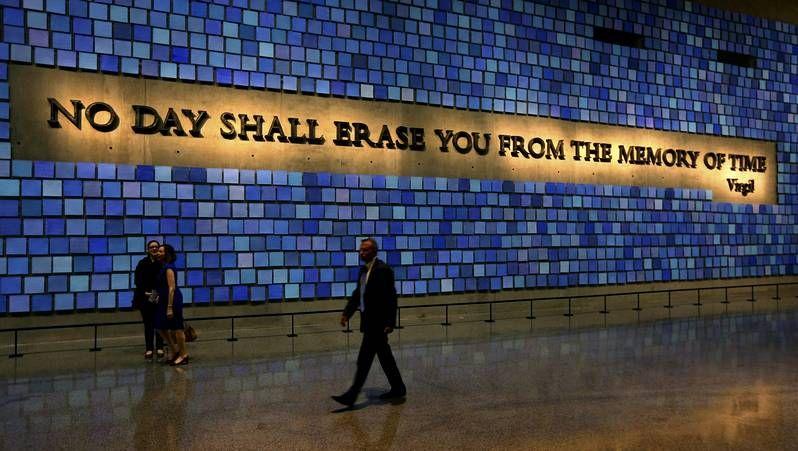 El Memorial, un recuerdo para héroes y víctimas