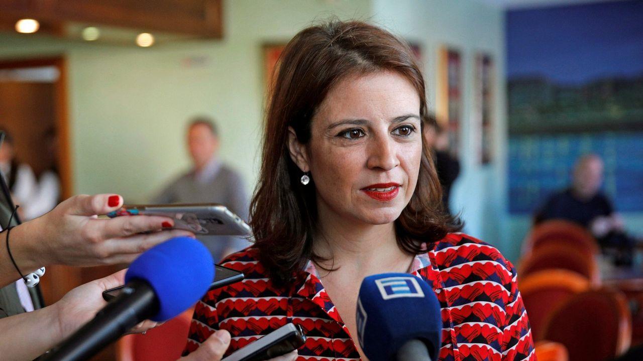 | EFE.La portavoz del PSOE en el Congreso, Adriana Lastra