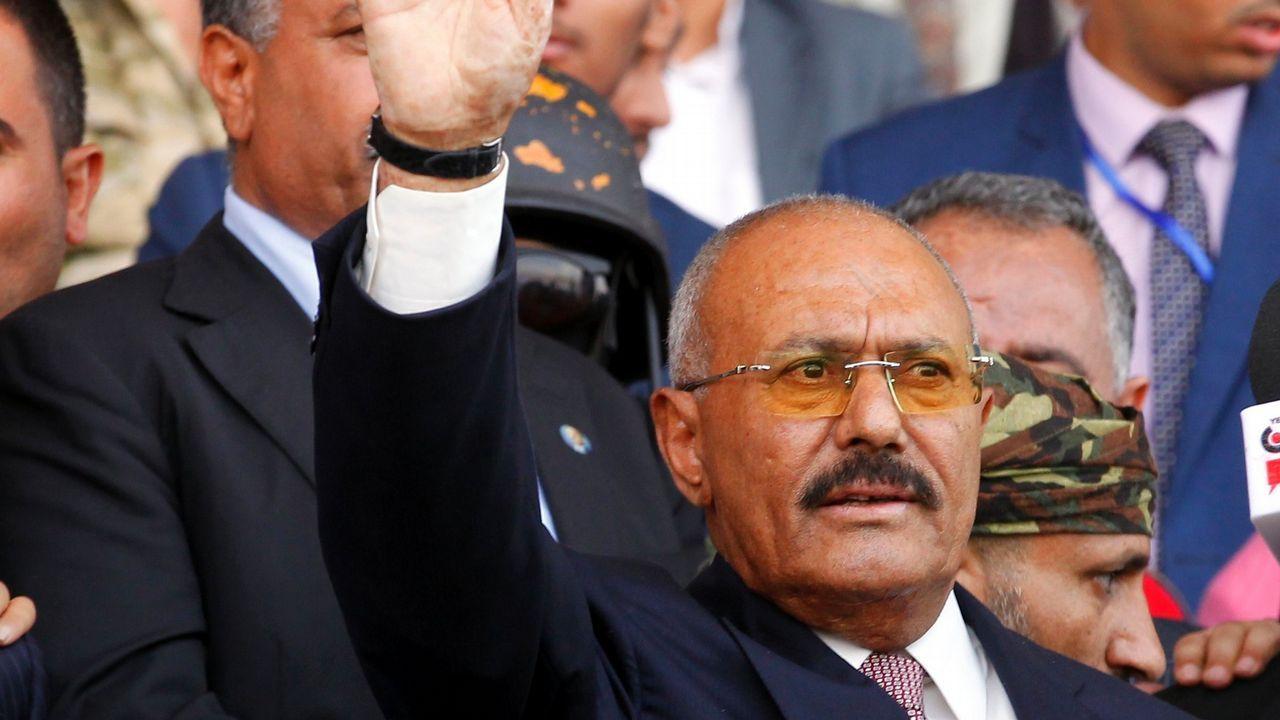.Fotografía de archivo del expresidente Ali Abdalá Saleh
