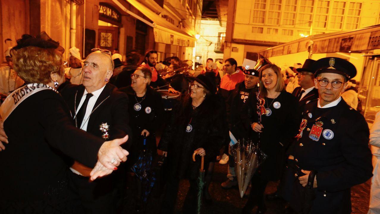 Adiós al «carnaval, reinado de la alegría» en Viveiro