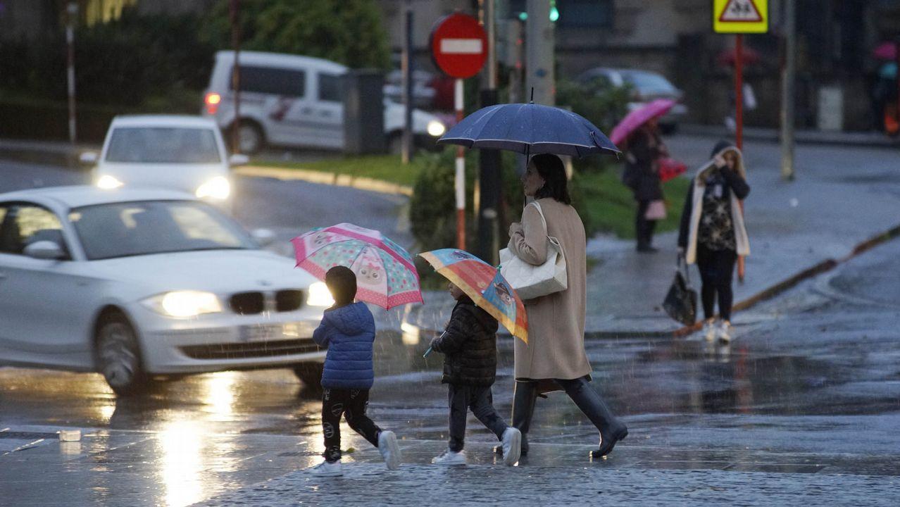 Ourense también registra importantes precipitaciones