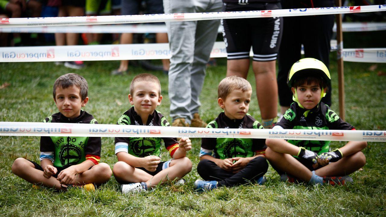 MINI BTT.Las carreras de BTT fomentan la convivencia entre los niños de las escuelas.