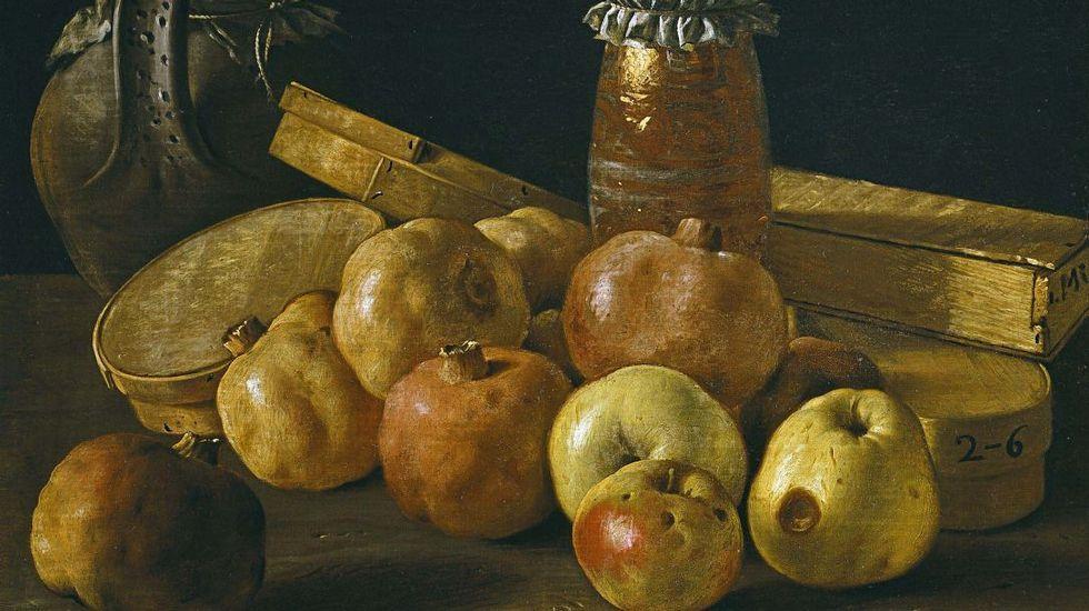 Recorrido en imágenes por una histórica fábrica de hierro.«Bodegón con granadas y manzanas, cajas de dulces y otros recipientes», de Luis Egidio Meléndez (1716-1780). Museo del Prado