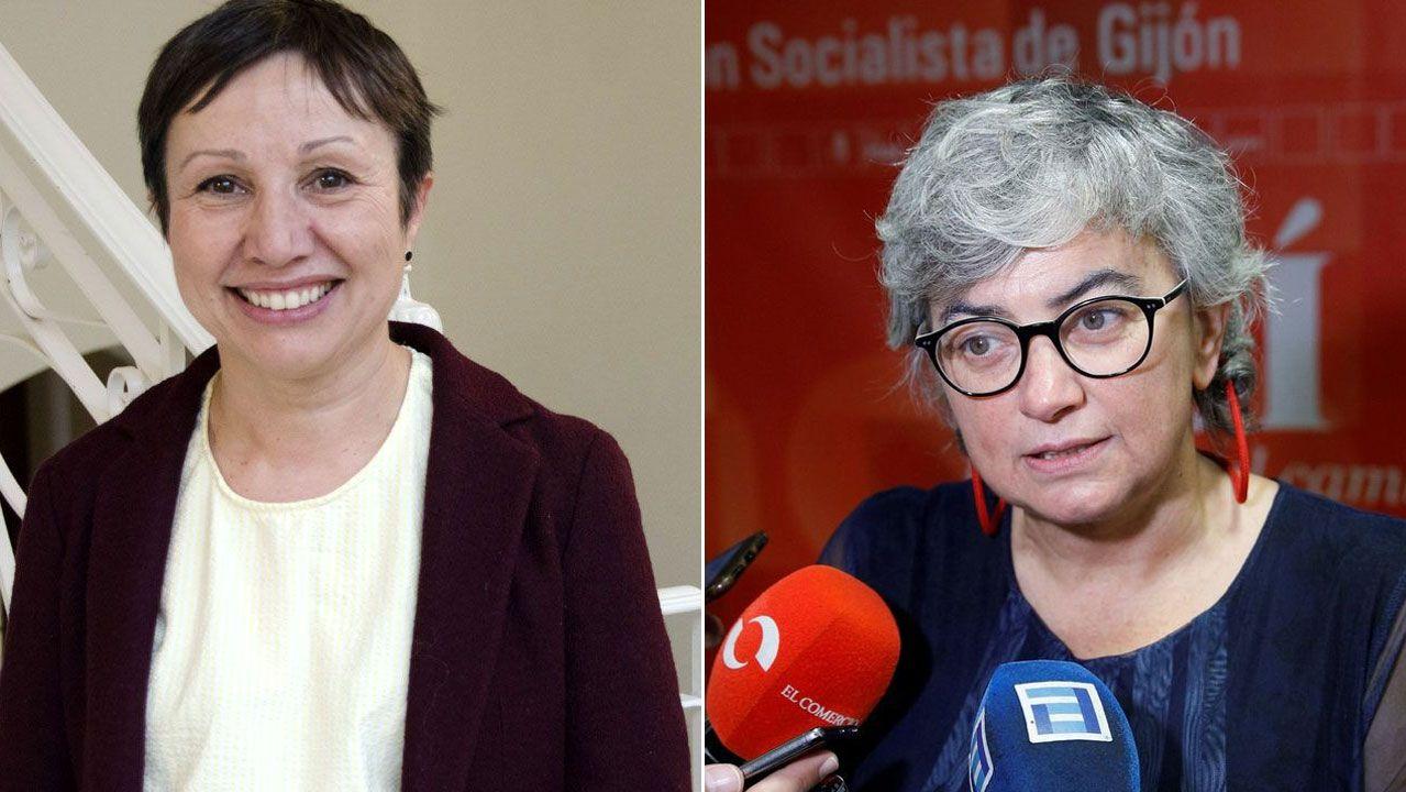 Yolanda Huergo y Ana González