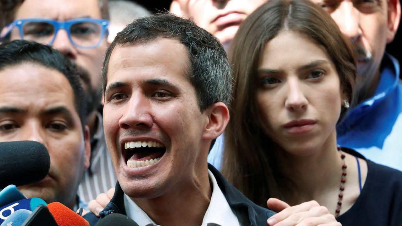 La oposición a Maduro vuelve a las calles.La portavoz del Grupo Socialista en el Congreso de los Diputados, Adriana Lastra