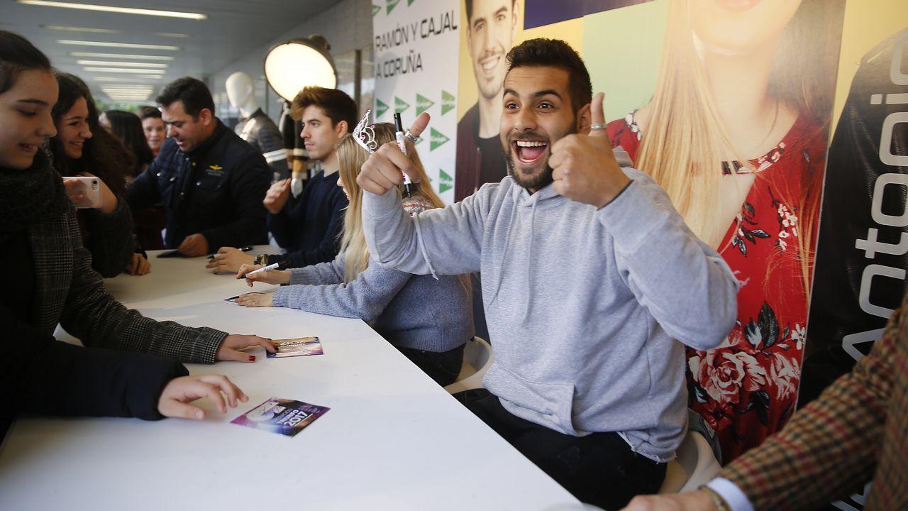 Los chicos de «OT 2017» arrasan en A Coruña
