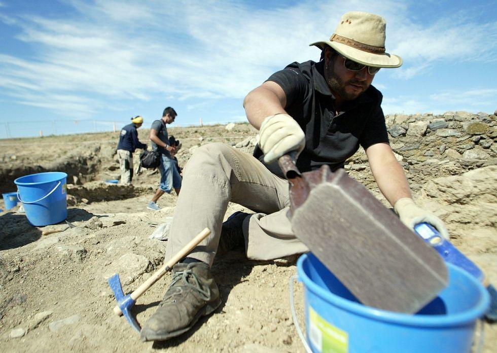 El tesoro increíble del representante de muebles.La excavación en el castro de A Lanzada se reanudará en junio y podrá visitarse.