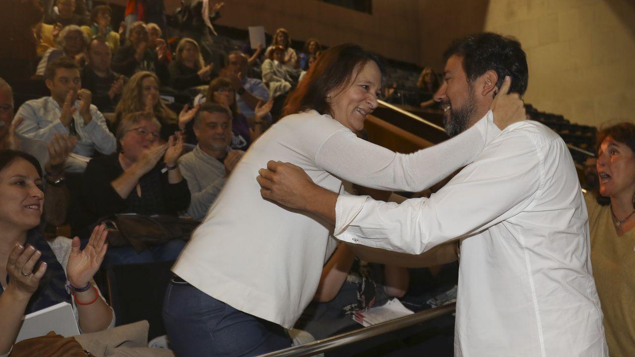 Búscate en la cena de gala de la AED.Bescansa y Gómez-Reino, en la asamblea ciudadana de Podemos