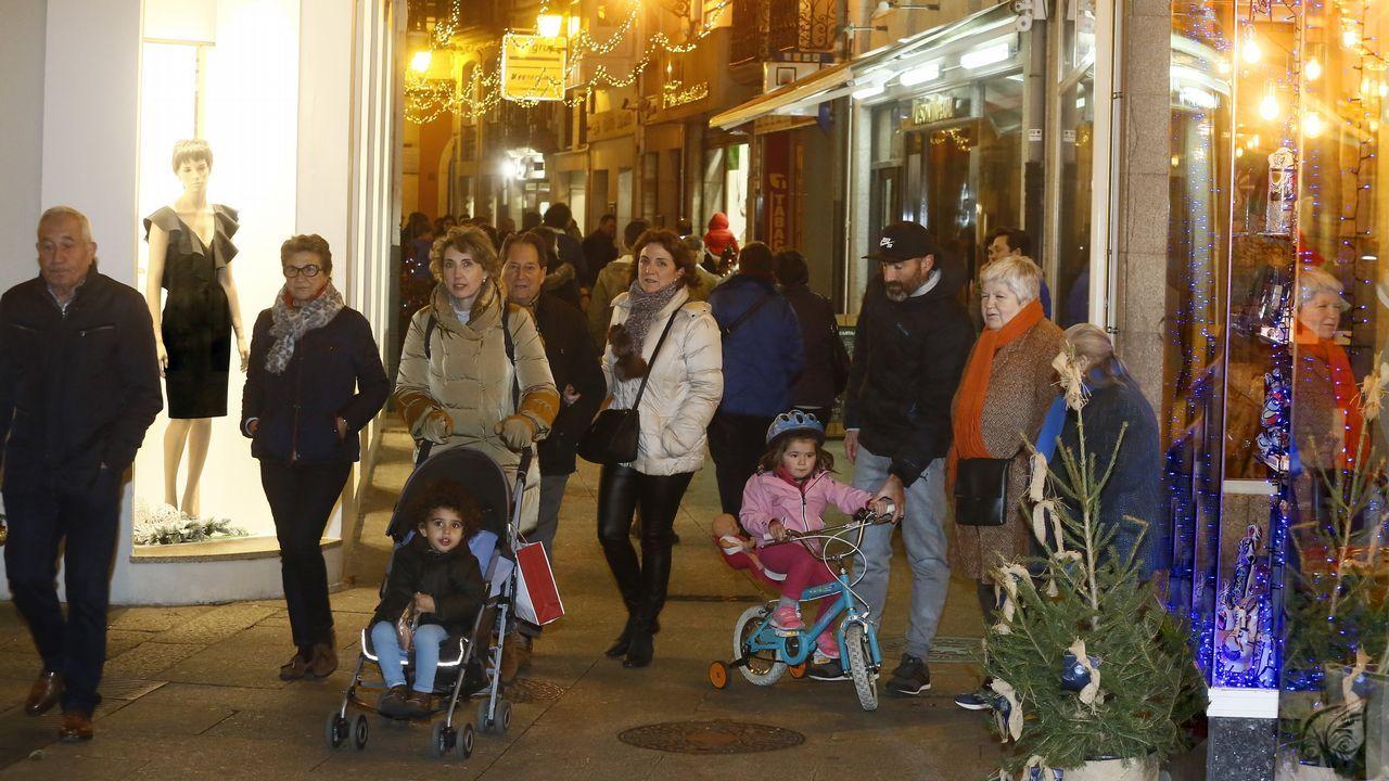 Os Bolechas animaron as rúas de Lugo