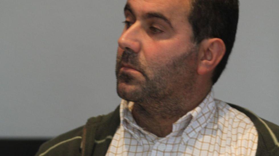 Santiago Barja es el concejal del PSOE en Viana